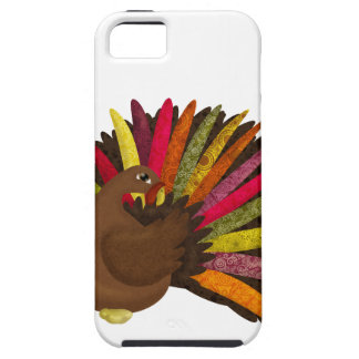 Swirly Turkey iPhone SE/5/5s Case