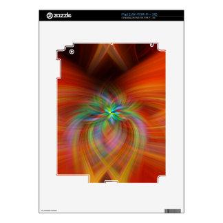 Swirly Twirls Decal For iPad 2