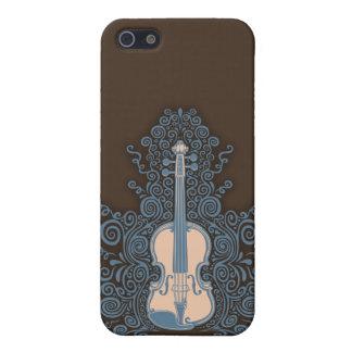 Swirly Violin iPhone SE/5/5s Case