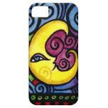 Swirly Whimsical Moon iphone case iPhone 5 Case