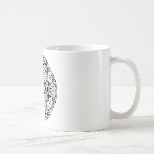 Swirly Wings Coffee Mugs