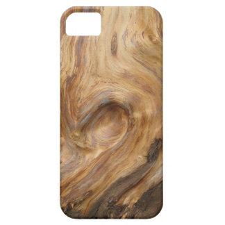 Swirly Wood Grain iPhone SE/5/5s Case