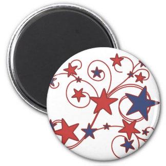 Swirly Works 2 Inch Round Magnet