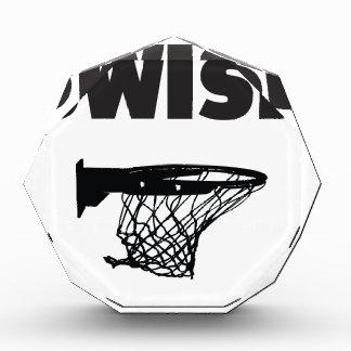 Swish basketball award