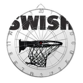 Swish basketball dartboard