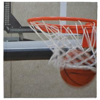 Swish Basketball Hoop Cloth Napkin