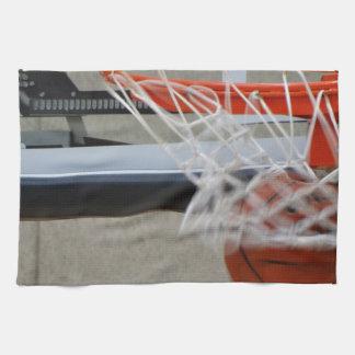 Swish Basketball Hoop Towel