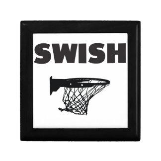 Swish basketball jewelry box