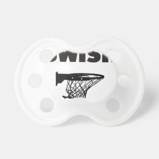 Swish basketball pacifier