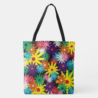 Swish flowers tote bag