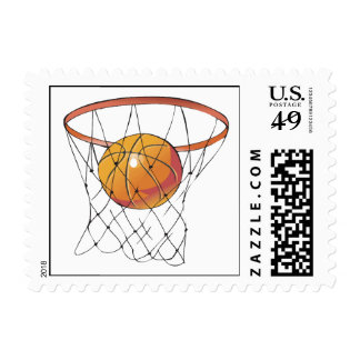 Swish Postage Stamp