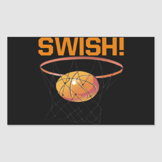 Swish Rectangular Sticker