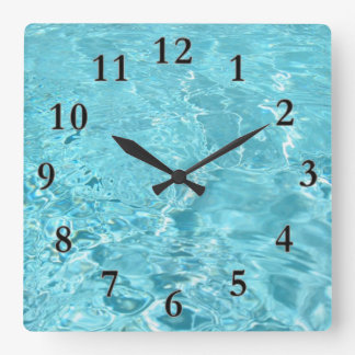 Swish Square Wall Clock