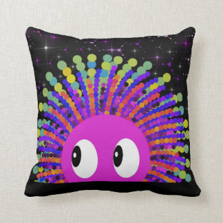 Swishie In Space Throw Pillow