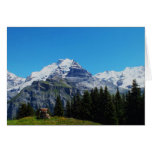 Swiss Alps Greeting Cards