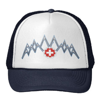 Swiss Alps Hat