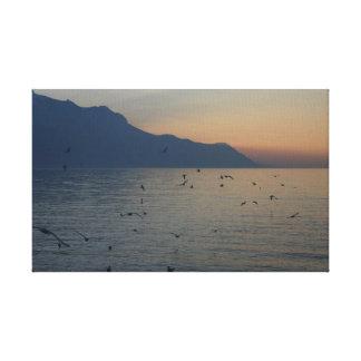 Swiss Alps - Montreux Switzerland Canvas Print