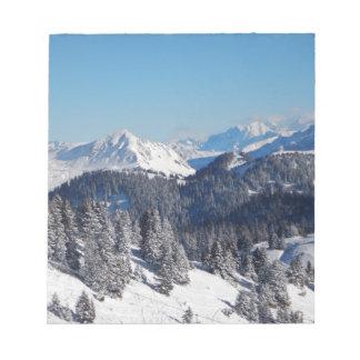 Swiss Alps Memo Pad
