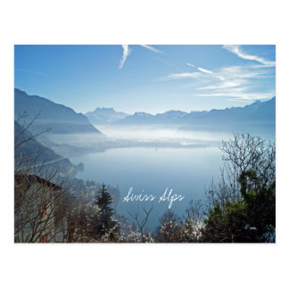 Swiss Alps Postcard