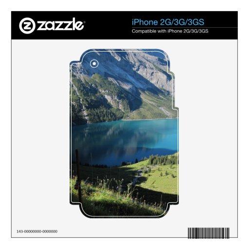 Swiss Alps Schweizrer Berge iPhone 3G Decal