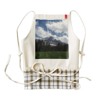 Swiss Alps Zazzle HEART Apron