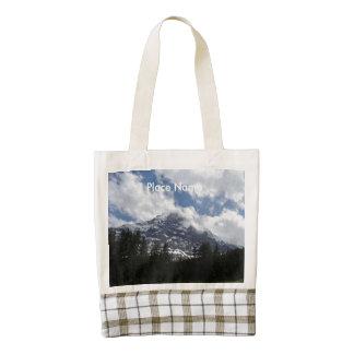 Swiss Alps Zazzle HEART Tote Bag