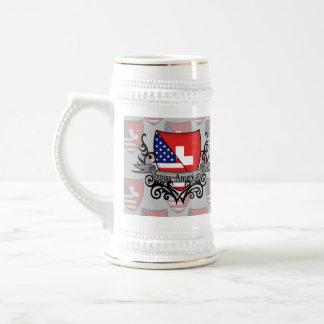 Swiss-American Shield Flag Mugs