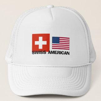 Swiss American Trucker Hat
