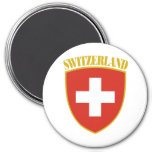 Swiss Arms 3 Inch Round Magnet