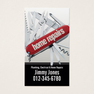 Army business cards 1700 army business card templates swiss army knife home repairs white business card colourmoves Gallery