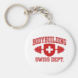 Swiss Bodybuilding Key Chain