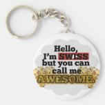 Swiss, but call me Awesome Keychain