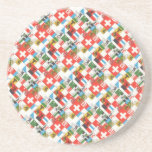 Swiss cantonial flags coasters