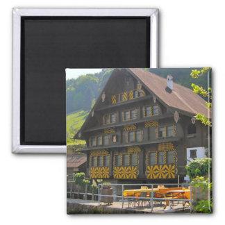 Swiss chalet, Lucerne region Refrigerator Magnets