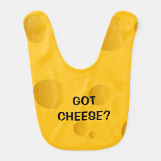 Swiss cheese baby bib | Funny novelty design