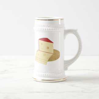 Swiss Cheese Beer Stein