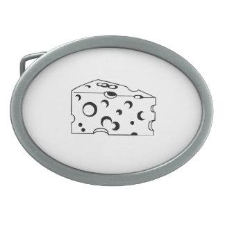 Swiss Cheese Belt Buckles