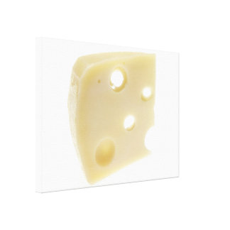 Swiss Cheese Canvas Print