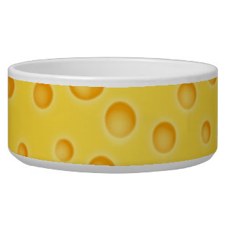 Swiss Cheese Cheezy Texture Pattern Bowl