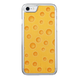 Swiss Cheese Cheezy Texture Pattern Carved iPhone 7 Case