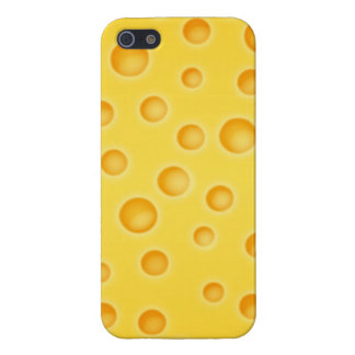 Swiss Cheese Cheezy Texture Pattern Case For iPhone SE/5/5s