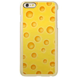 Swiss Cheese Cheezy Texture Pattern Incipio Feather Shine iPhone 6 Plus Case