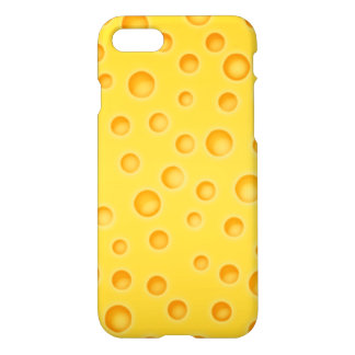 Swiss Cheese Cheezy Texture Pattern iPhone 8/7 Case