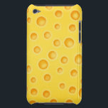 "Swiss Cheese Cheezy Texture Pattern iPod Touch Cover<br><div class=""desc"">Featuring vector artwork of yellow swiss cheese texture pattern.</div>"