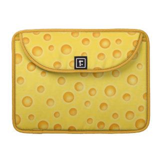 Swiss Cheese Cheezy Texture Pattern Sleeve For MacBook Pro