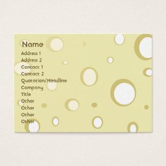 Swiss Cheese - Chubby Business Card