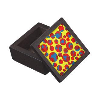 Swiss cheese jewelry box