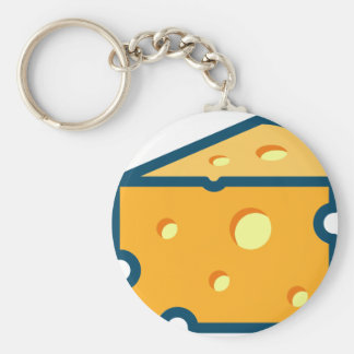 Swiss Cheese Keychain
