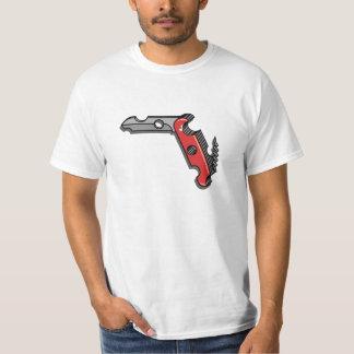 Swiss Cheese Knife T-Shirt