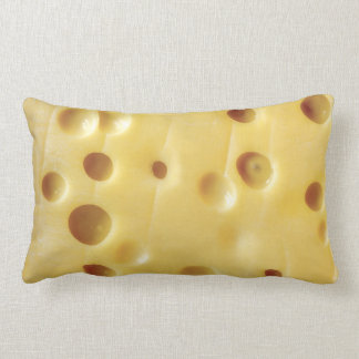 swiss cheese lumbar pillow